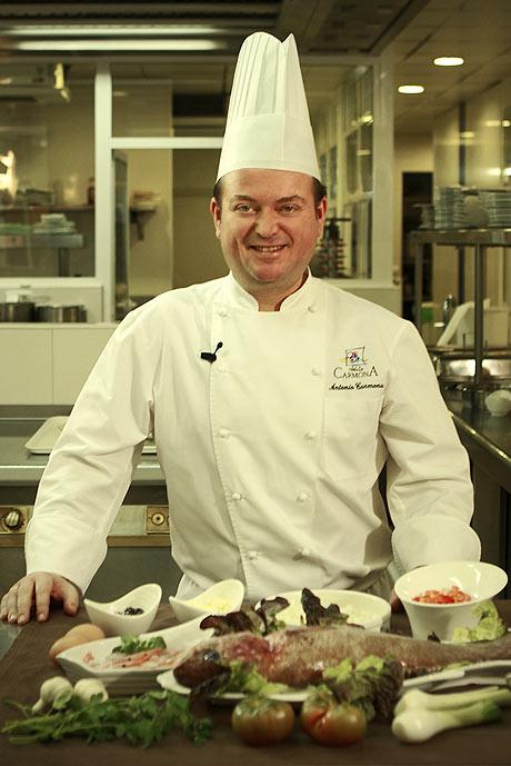 Showcooking Del Chef Antonio Carmona Del Restaurante